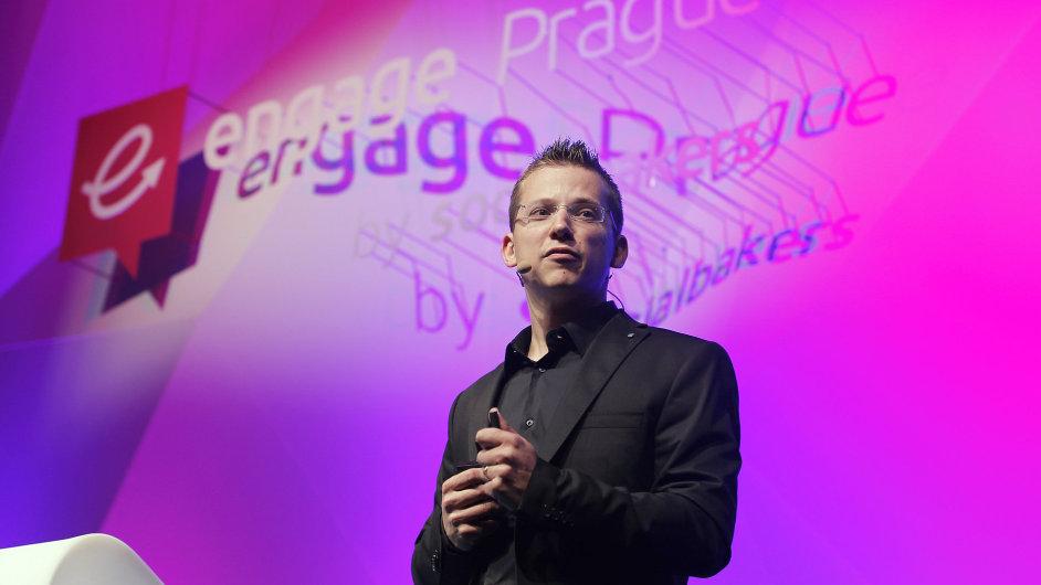 Engage Prague 2015. Na snímku Jan Řežáb