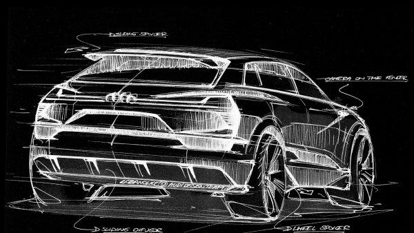 Tesla by se m�la za��t b�t. Audi uk�zalo koncept elektrick�ho SUV