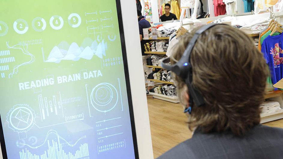 UMood – zařízení, které v sobě snoubí marketing a neurovědu.