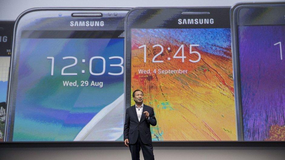 Šin Čung-kjon se zaměří na dlouhodobou strategii Samsungu v informačních technologiích.