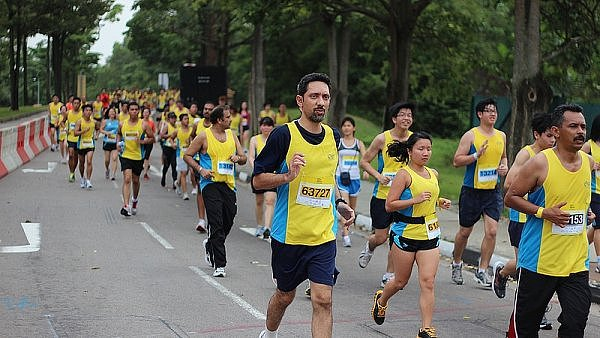 Yellow Ribbon Run v Singapuru