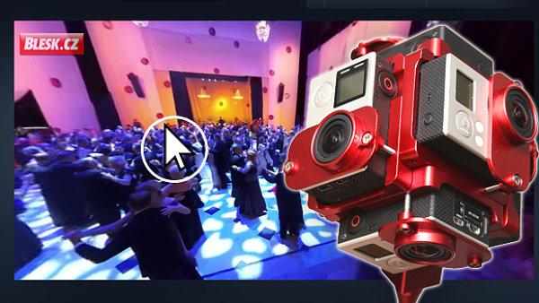 Blesk.cz využil unikátní 360stupňové video i na Plesu v Opeře