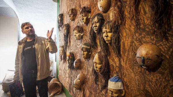 Snímek z výstavy Duše Pra/lesa