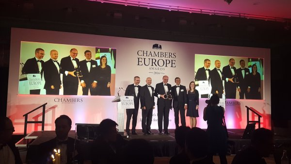 PRK Partners získala cenu Chambers Europe Awards.