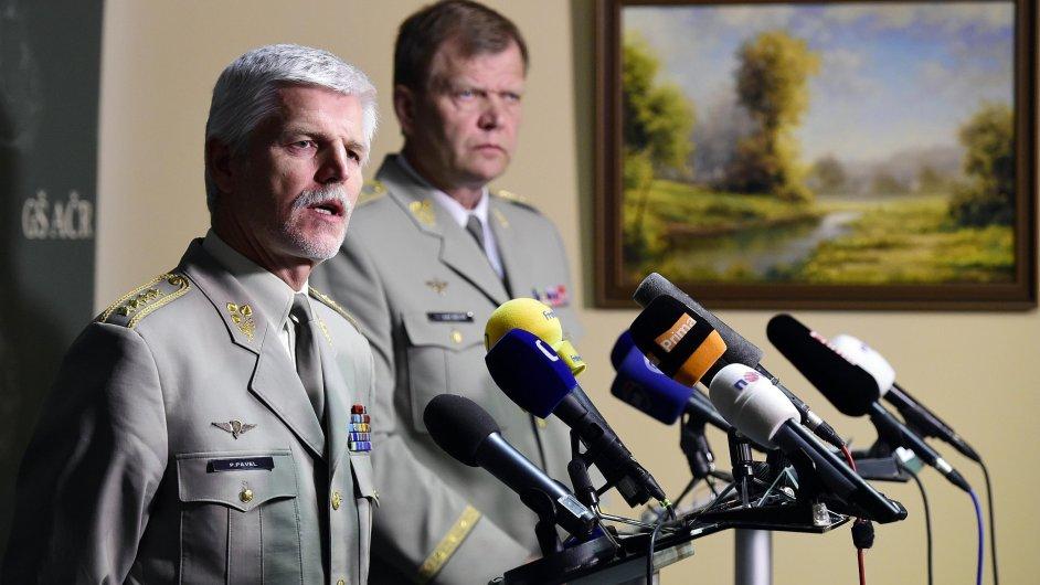 NATO Petr Pavel a Josef Bečvář v ČR 2016