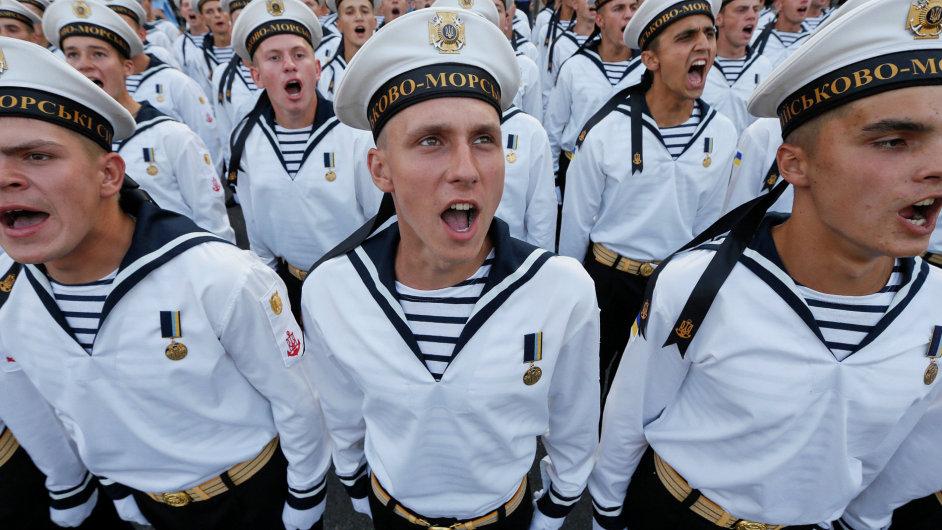 Ukrajina, přehlídka, nezávislost