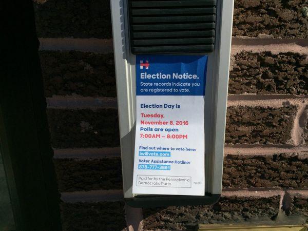 USA volby