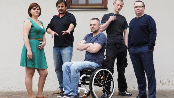Účastníci projektu Srdcerváči