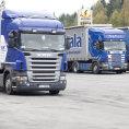 Francouzským řidičům konkurují hůře placení řidiči z jiných unijních zemí - Ilustrační foto.