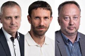 Karel Kleinmond, Michal Klimovič a Petr Horký na významných postech ve společnosti Lindab