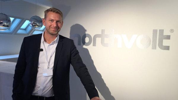 Peter Carlsson prý svou společností Northvolt nechce konkurovat Tesle, kde dříve pracoval.