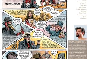 Komiks Karla Jerie na téma