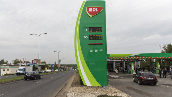 Maďarská ropná společnost MOL provozuje čerpací stanice také v Česku.