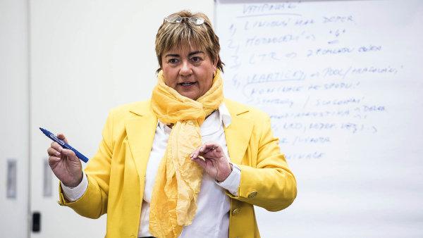 Yvona Charouzdová, lektorka ve vzdělávací společnosti Top Vision. Zaměřuje se na rozvoj potenciálu manažerů.