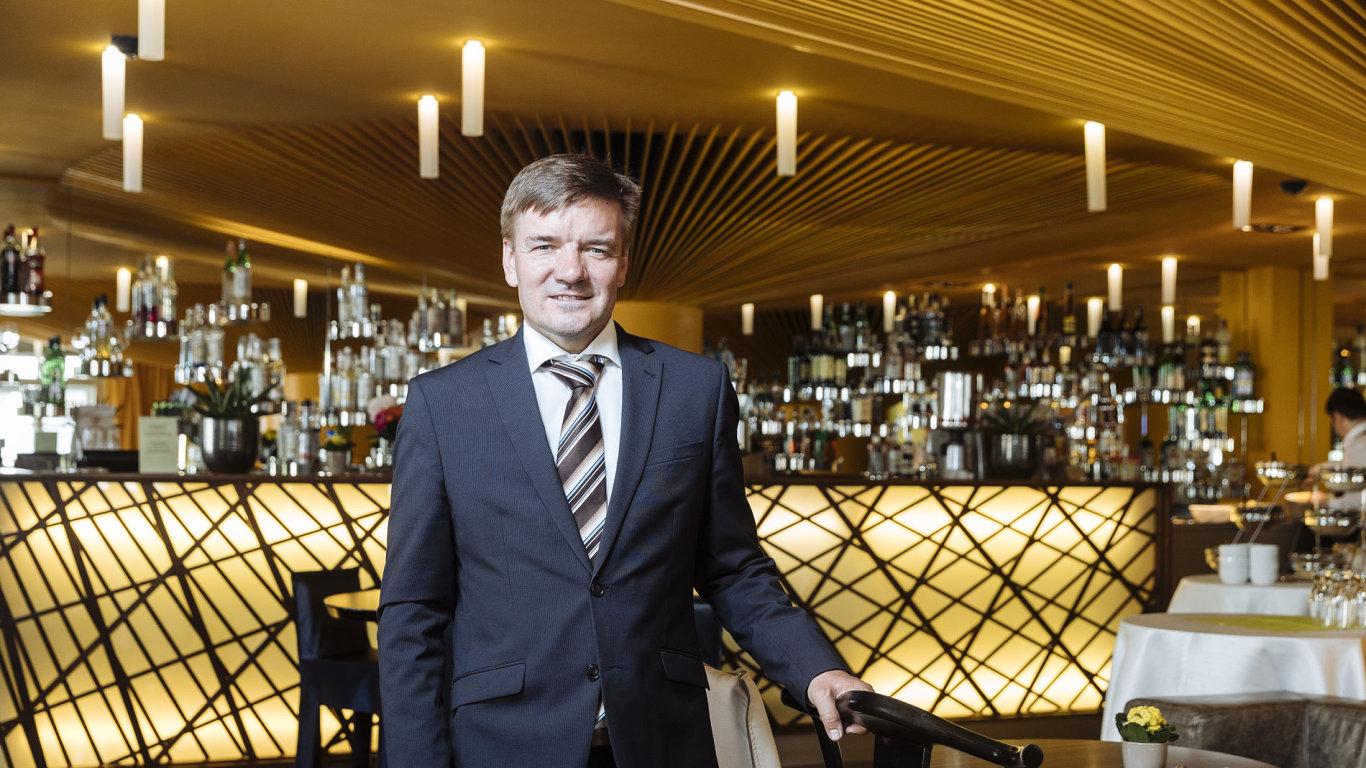 Pražské hotely jsou teď bombový byznys, ale nikdy nevíte, kdo přijede, tvrdí Tomáš Startl