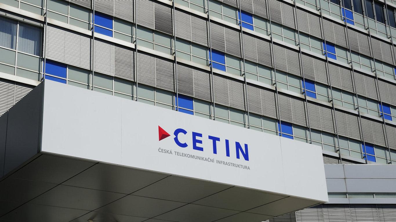 Sídlo společnosti Česká telekomunikační infrastruktura (Cetin).