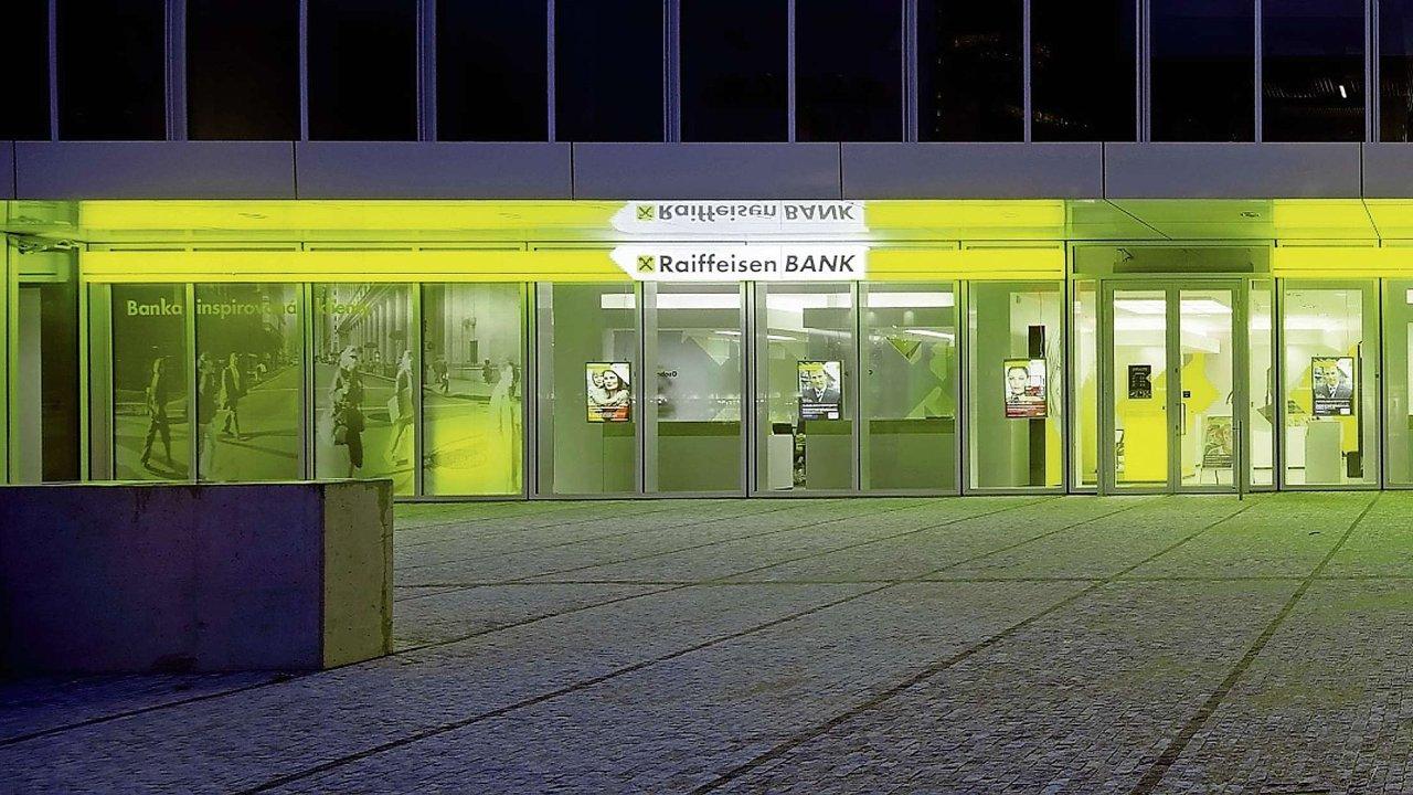 O polskou divizi Raiffeisen Bank má zájem čínská společnost Fosun Group - Ilustrační foto.