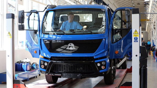 Avia začala letos opět vyrábět nákladní vozy.