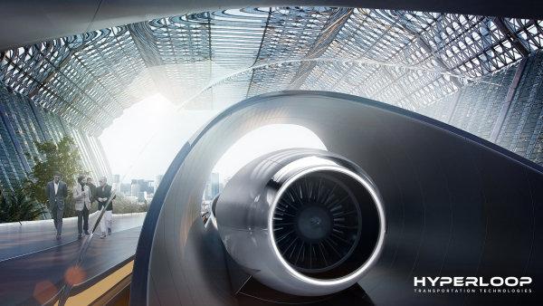 Hyperloop Transportation Technology (HTT) chce spojit Prahu s Brnem svou tubusovou rychlodráhou na přepravu lidí.