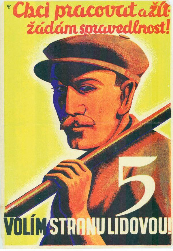 Volební plakáty Čs. strany lidové z 30. let 20. století
