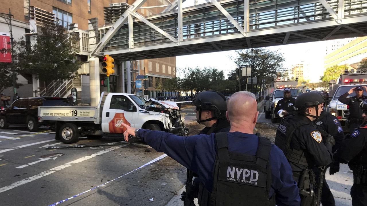 střelba, New York, Manhattan, policie