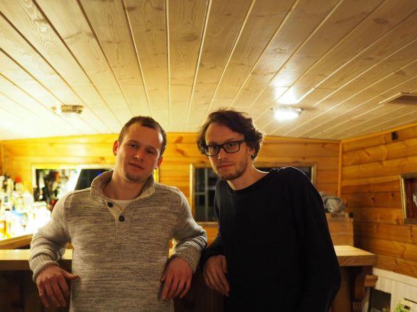 Matouš a Daniel Vilímovi, majitelé barové lodi Imago Mundi