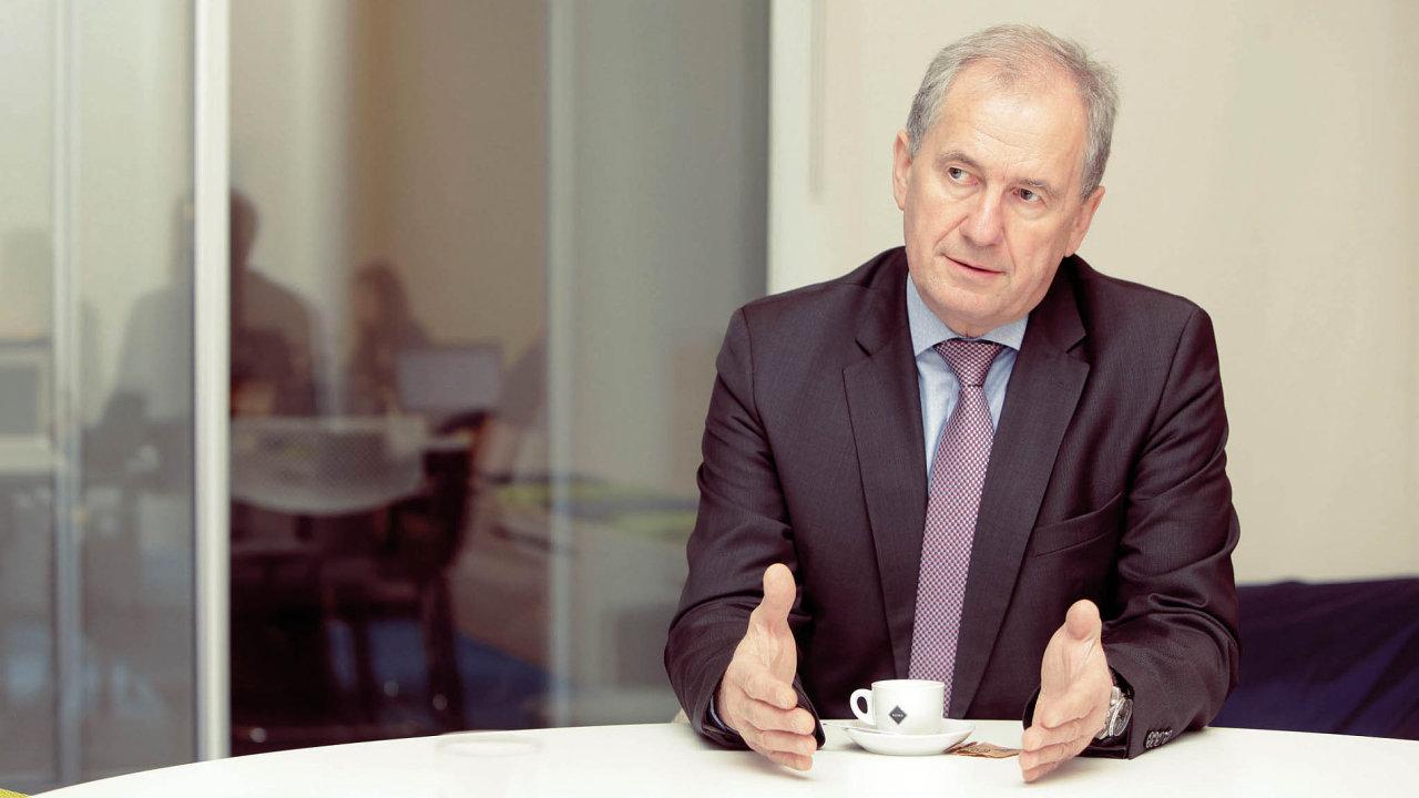 Předseda Nejvyššího správního soudu Josef Baxa.