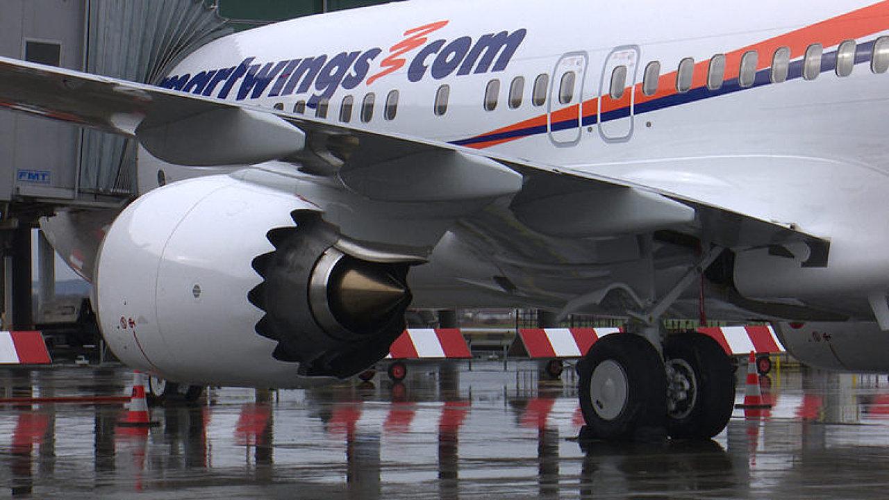 Travel Service se pochlubily novým letadlem. Boeing 737 MAX 8 doletí dále