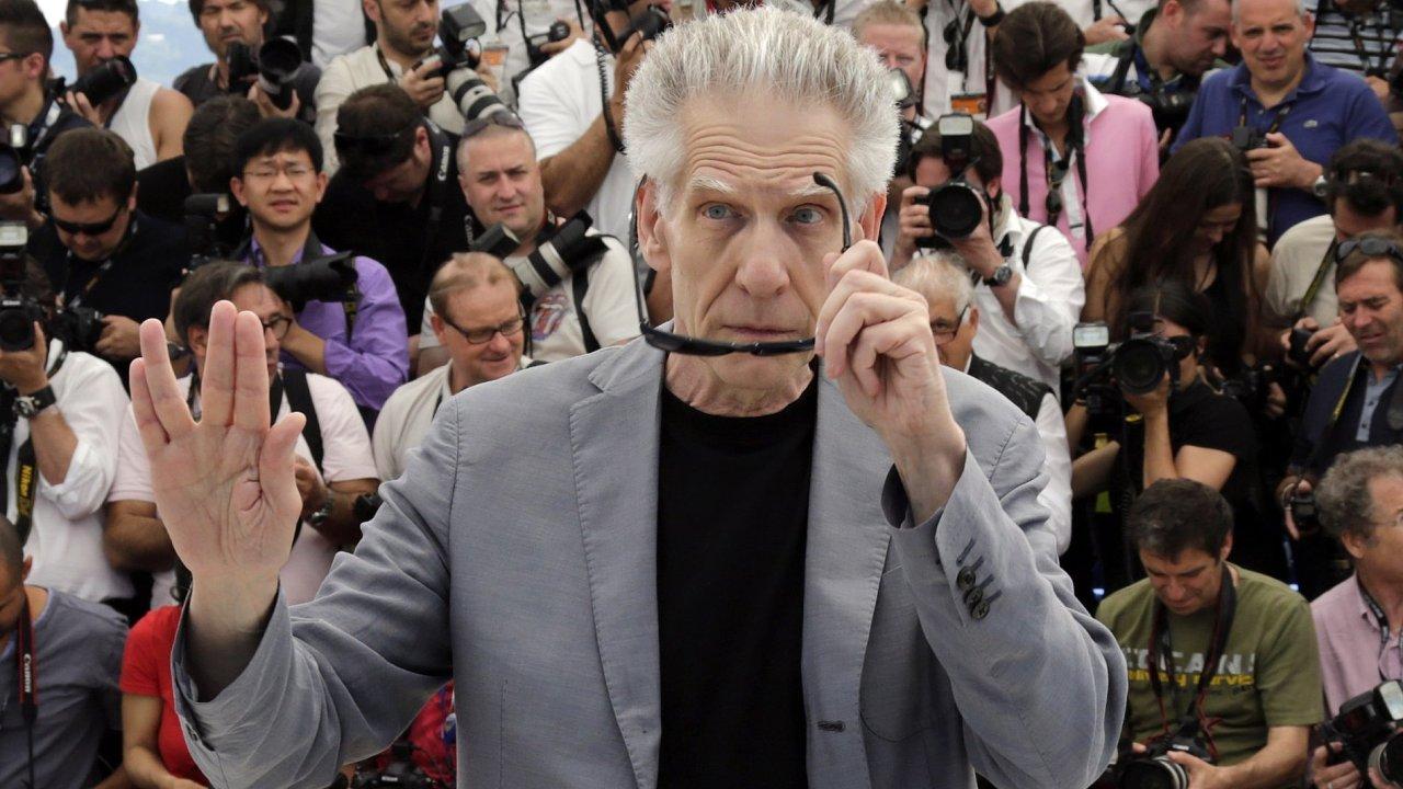 Nový film má letos v soutěži i režisér David Cronenberg (na snímku z roku 2012)