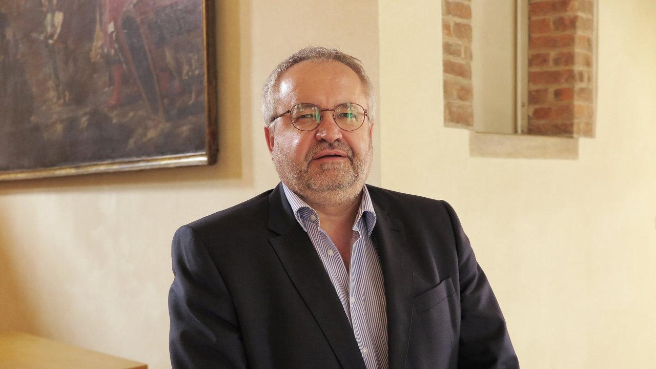 Libor Vávra, předseda Městského soudu v Praze, 2018