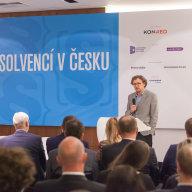 Michal Franěk, náměstek ministra spravedlnosti na panelové debatě Budoucnost insolvencí v Česku