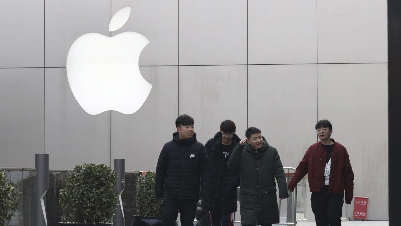 Apple v Číně - Ilustrační foto.