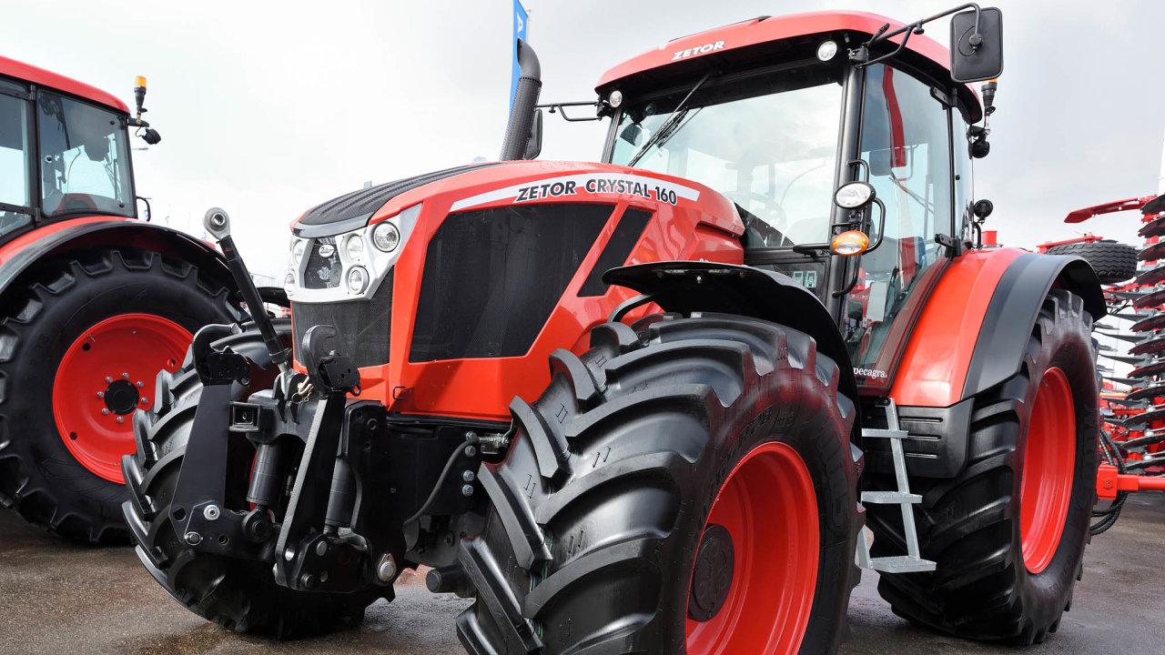 Zetor Tractors prodal loni 2080 traktorů, což bylo nejméně od roku 2002.