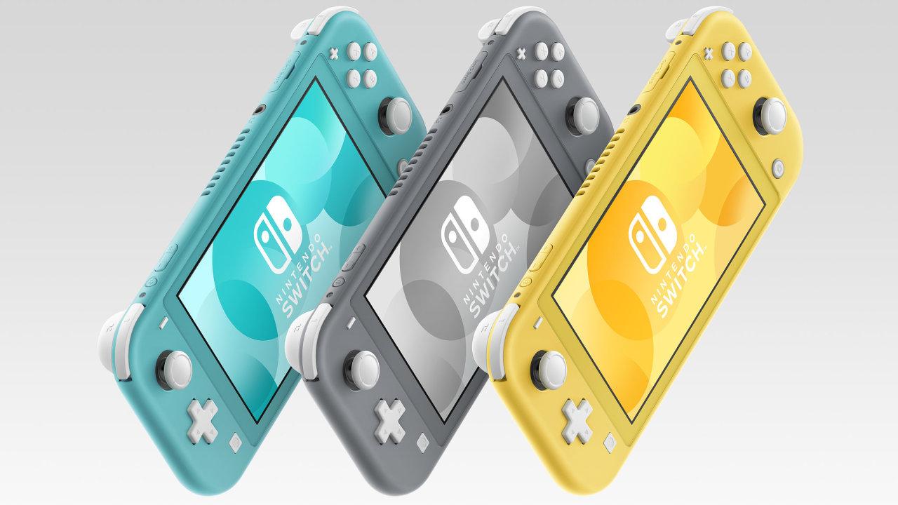 Nintendo Switch Lite je menší a citelně levnější