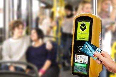Nákup bezkontaktní jízdenky v plzeňské MHD