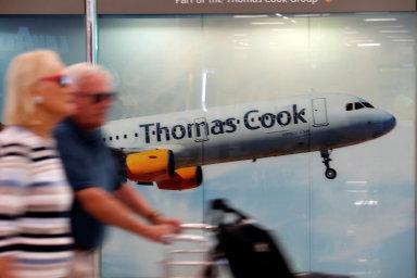 Klienti cestovní kanceláře Thomas Cook uvízli též na letišti mna Mallorce.