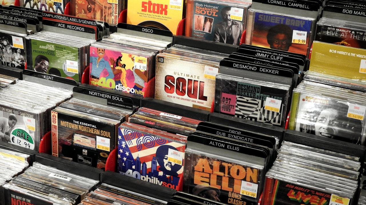Hudba, CD