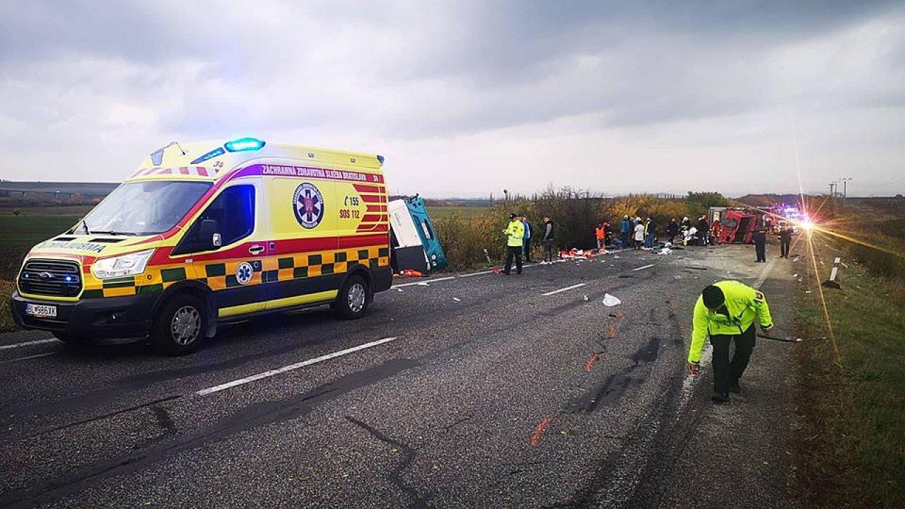 Slovensko dopravní nehoda
