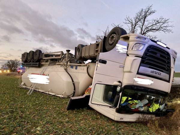 Praha 6 cement kamión nehoda