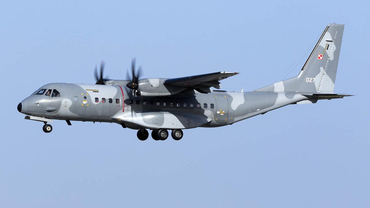 Nové letouny CASA C-295 MW získá armáda vnásledujících dvou letech.