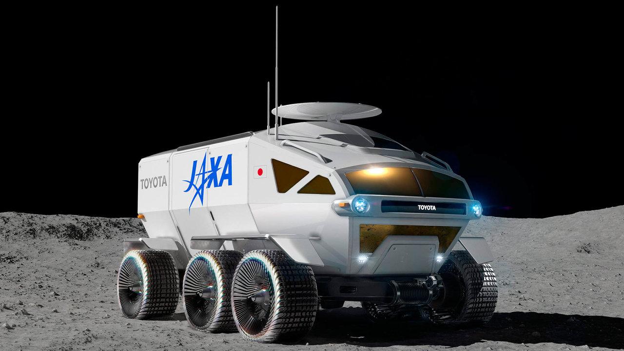 Dochystaného vozidla Lunar Cruiser odToyoty ajaponské vesmírné agentury JAXA se mají vejít až čtyři astronauti, kteří budou moci vroveru ipřespat.