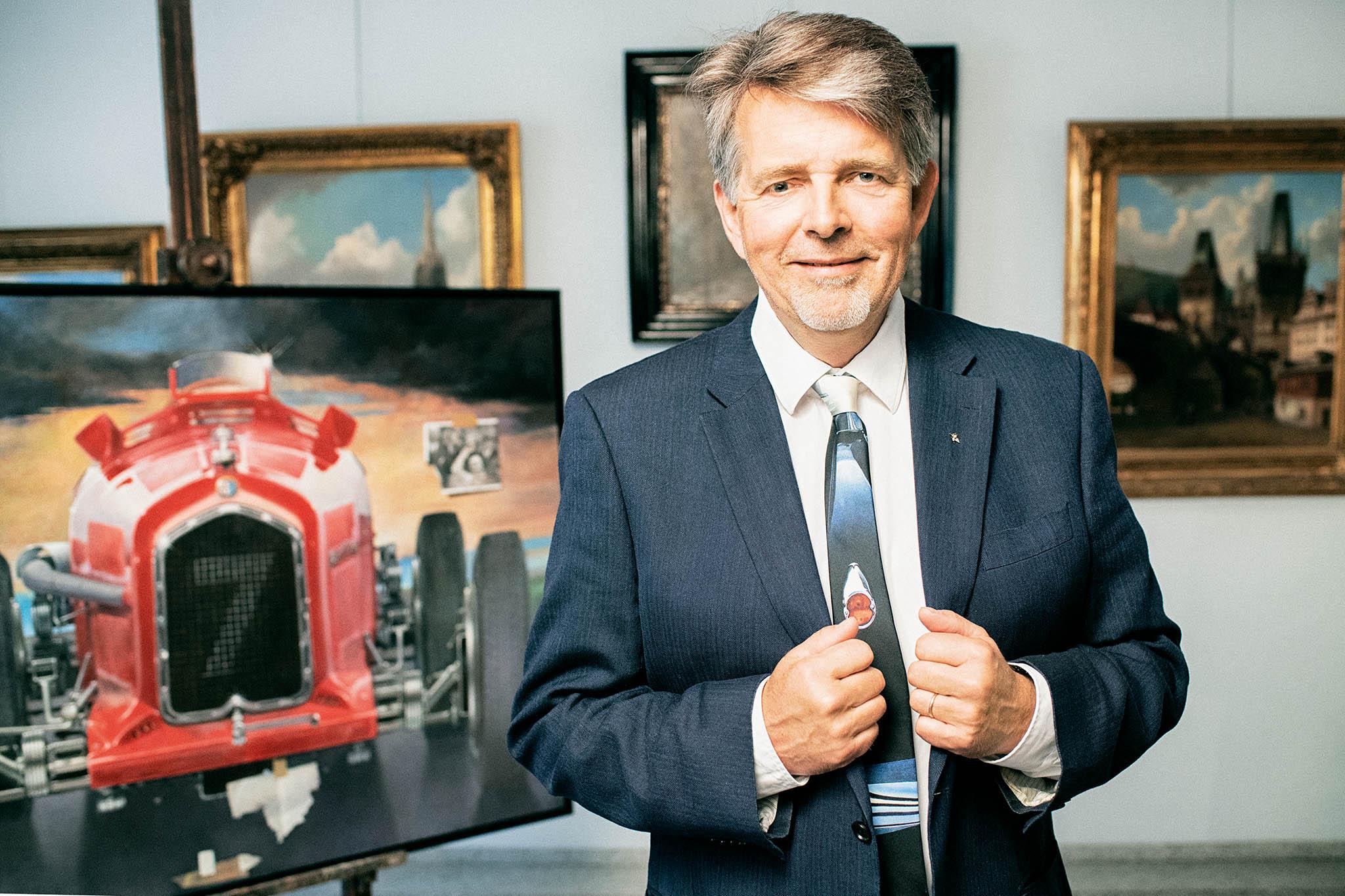 Martin Kodl u obrazu od Theodora Pištěka Adieu, Guy Moll (1992–2017)