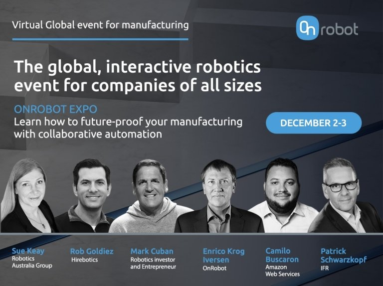Účastníci konference OnRobot Expo