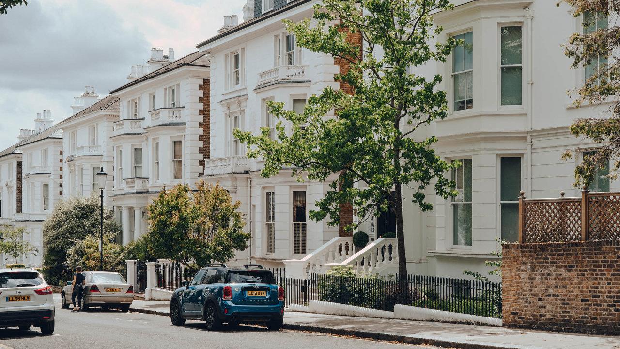 Dobře uložené peníze. Nemovitosti v atraktivních lokalitách, jako například v centru Londýna, budou i nadále jistou investicí