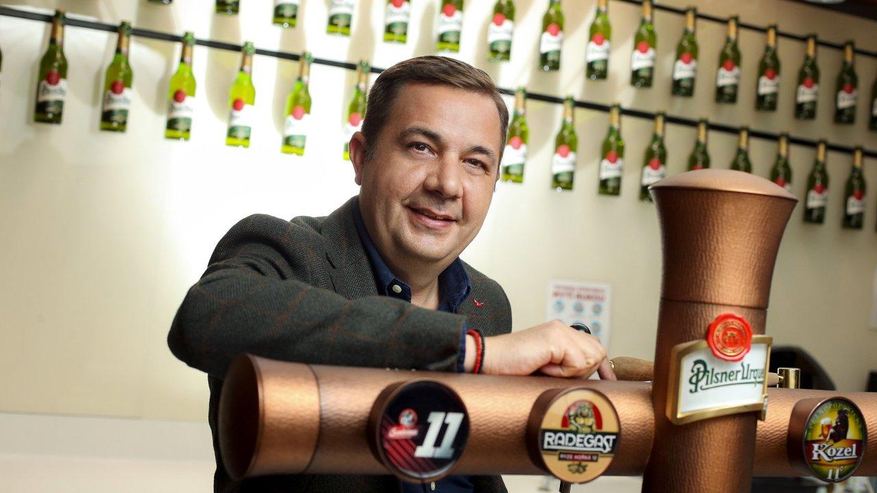 Dragos Constantinescu, nový šéf Plzeňského Prazdroje.
