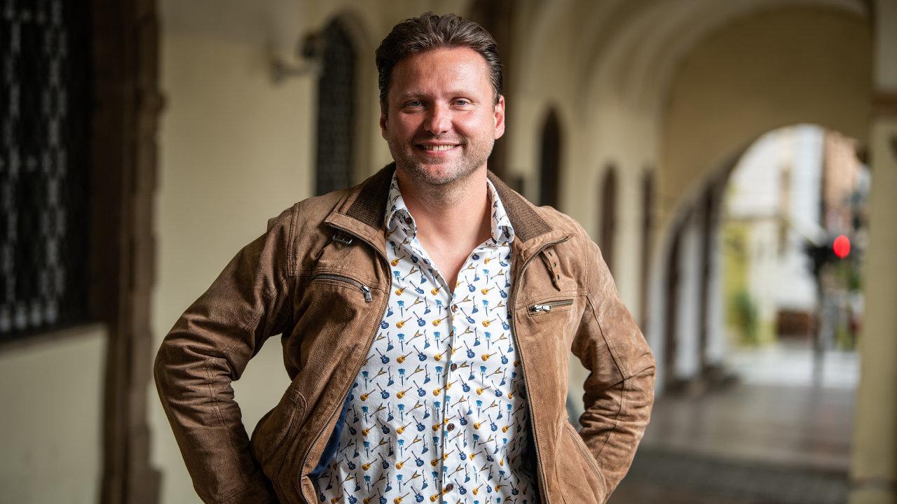 Radek Vondráček, předseda sněmovny