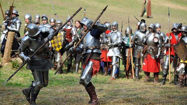 Rekonstrukce historické bitvy v Libušíně