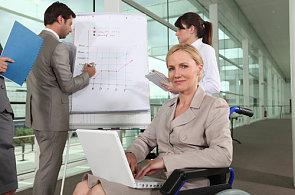 Zaměstnávání postižených – ilustrace