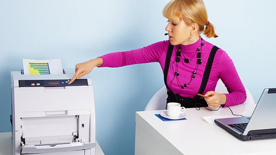 tiskarna sekretarka