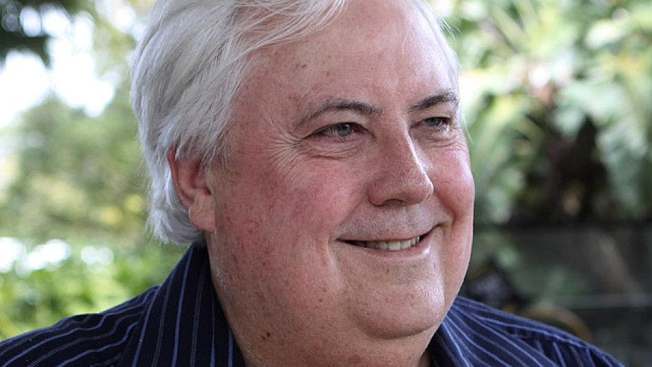 Australský miliardář Clive Palmer